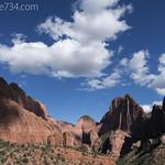 Kolob Canyons with Nagunt Mesa