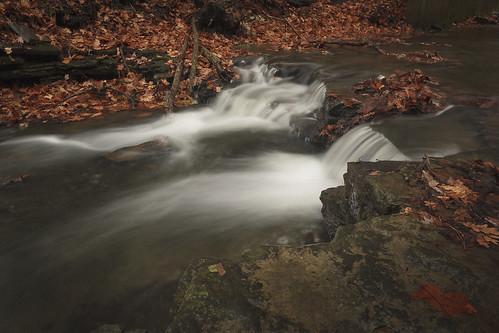 longexposure autumn fall leaves canon rebel waterfall sigma foliage polarizer 1835 t2i drybrook waverlyglen