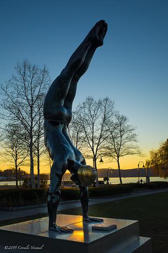 sculpture publicart ricohgr sunriseandsunset hudsonvalley peekskill