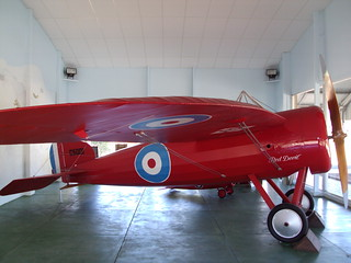 Minlaton. yorke Peninsula. Captain Harry butlers Red Devil airplane from 1919.