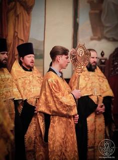 Великая вечерня в Иверском монастыре 350