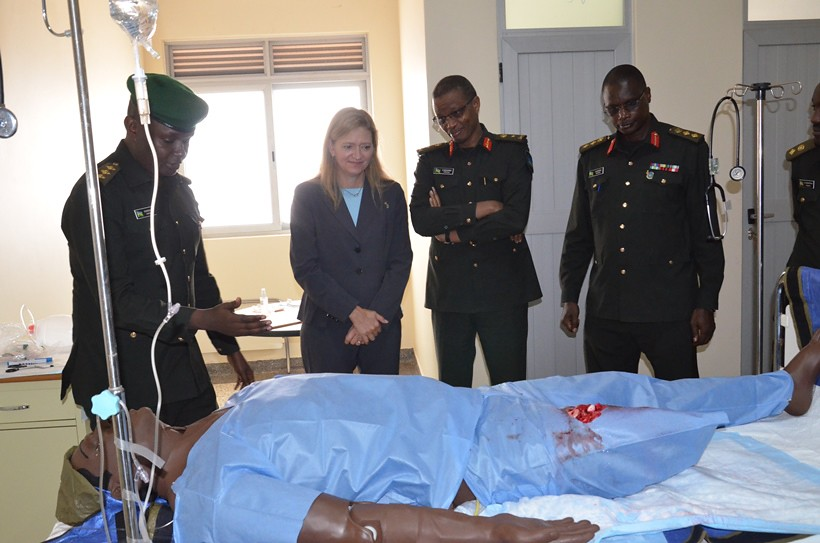 50911641472 ... Rwanda Military Hospital unveils Medical Modeling and Simulation Center  | by Rwanda Defence Force