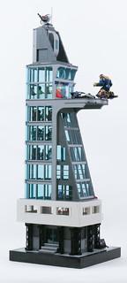 Stark Tower   by Gzu's Bricks