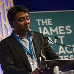 James Tait Black Prizes | Zia Haider Rahman, winner of the James Tait Black Prize for Fiction, reads from his book In the Light of What We Know © Alan McCredie