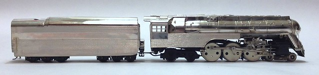 NYC J-3 4-6-4 AFTER SOME CLEAN UP - HO BRASS BY LM BLUM MODELS