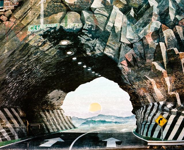 TunnelVision Mural (Kodak Portra 400)