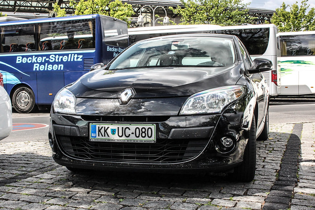 Slovenia (Krsko) - Renault Megane