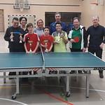 Tischtennis-Hobbyturnier 04.02.2017
