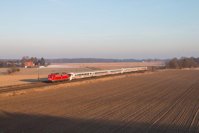 115 261 mit Pbz 2453 bei Burgdorf - 28.01.16