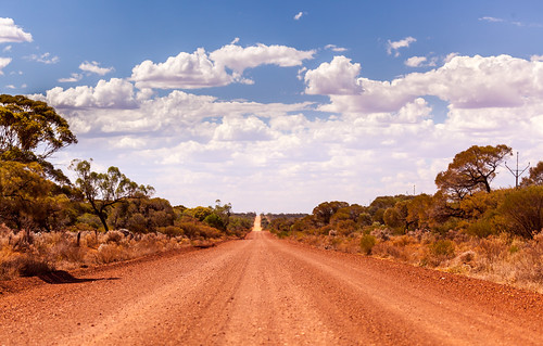 Outback Road, Iron Baron, South Australia | by russellstreet