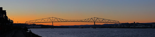 bridge sunset columbiariver longviewwashington lewisandclarkbridge rainieroregon