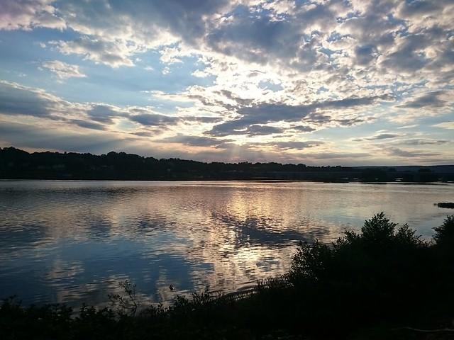 Sunset on City Island