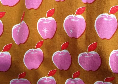Melody Miller:  Picnic (Apples Pink) | by patternandbranch