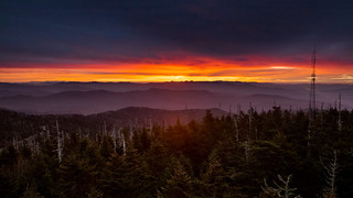 Sunrise at Great Smoky Mountains | by OrangeBlury