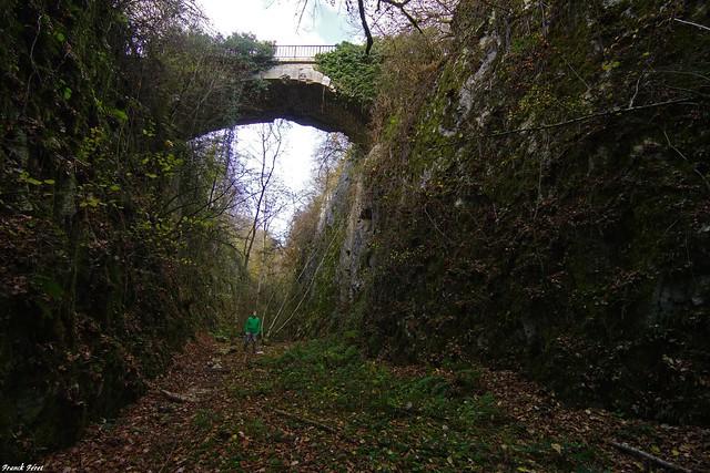 Ancienne voie férrée abandonnée Sornay - haute saône
