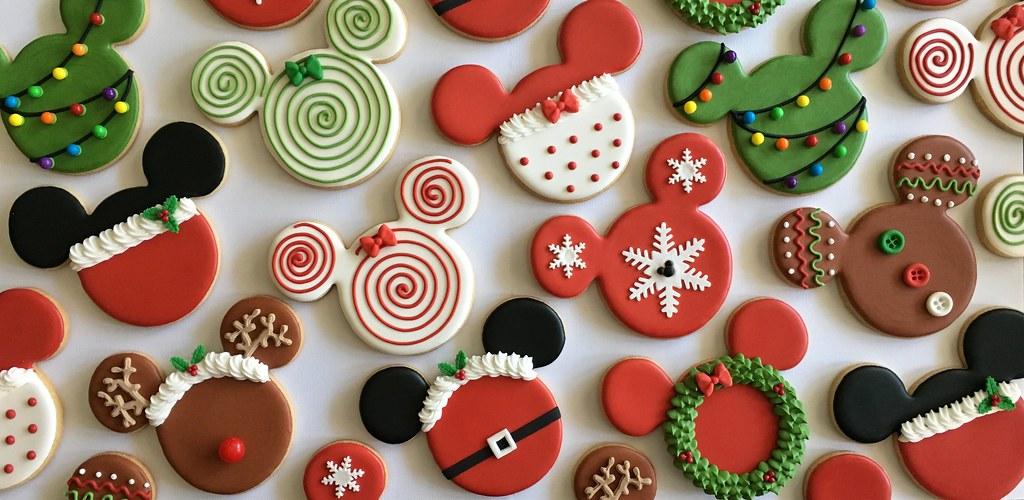 Disney Christmas Cookies Dorys Abad Flickr