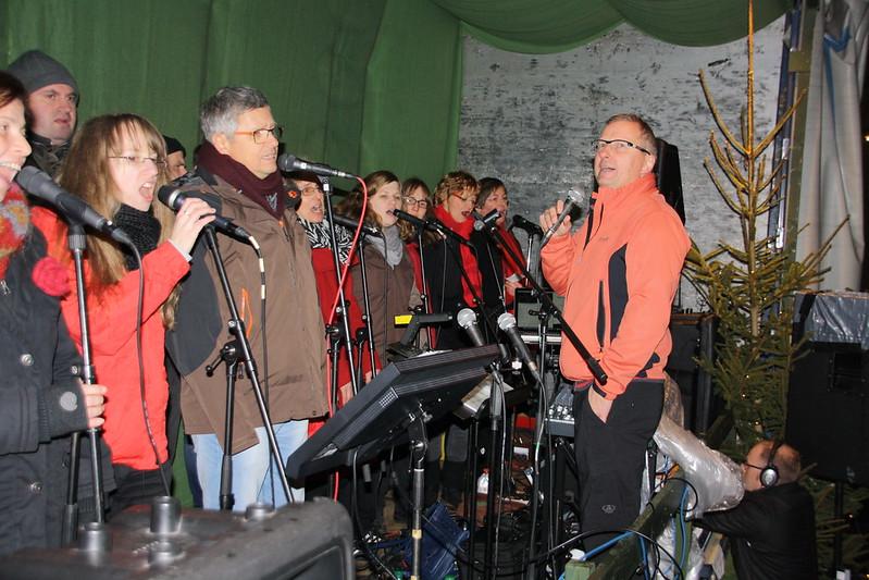 Letzter Auftritt auf dem Altstädter Weihnachtsmarkt 2016
