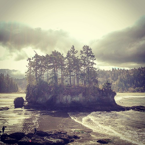 I LOVE the Pacific Northwest...Just outside Olympic National Park... #nickschnebelenband #tourlife | by Adam Hagerman