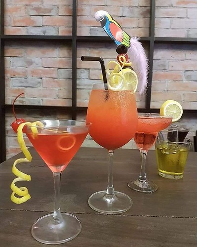 Cocktails like these are love w/ Mint Kitchen Bar Karaoke. #Dagupan #Pangasinan #PangasinanFoodCrawl | by Jinkee Umali