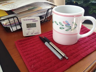 getting ready to write | by EatLiveGrowPaleo.com