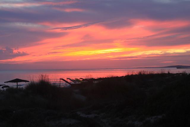 Son Bou sunset