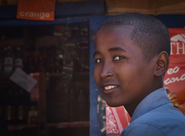 Boy in Ifaty, Madagascar