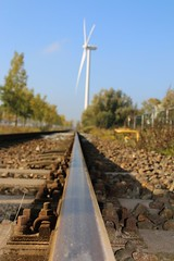 Railway to the windmill