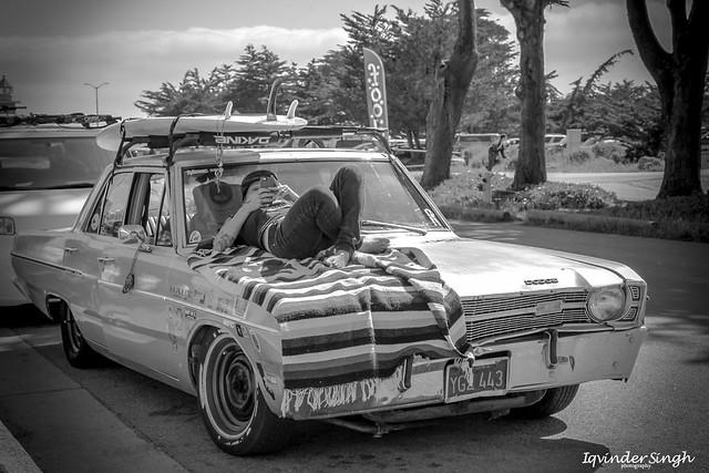 Dodge Dart in Santa Cruz, California.