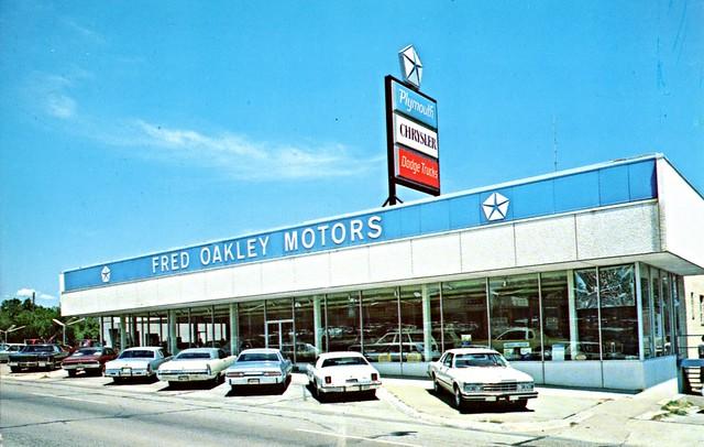 Fred Oakley Motors, Dallas TX, 1970s