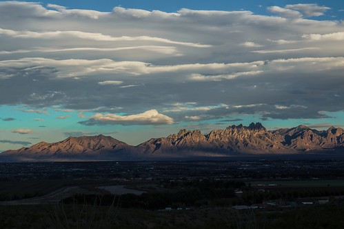 newmexico clouds layers lascruces blm organmountains ridgelinetrail prehistorictrackwaysnationalmonument tg2015