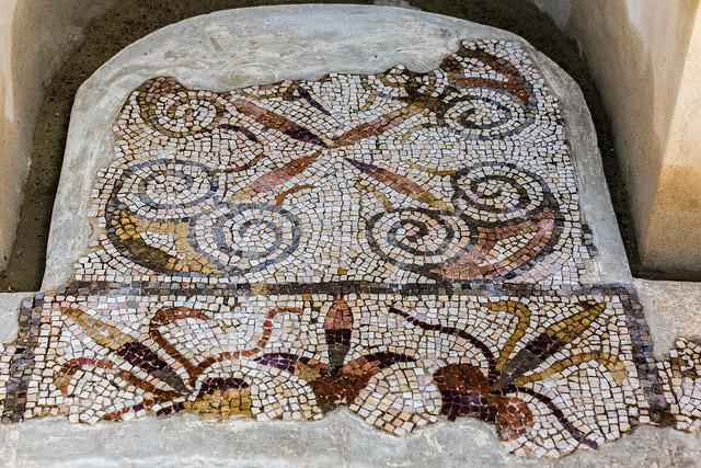 Roman mosaic in Italica