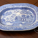 Large Victorian meet plate