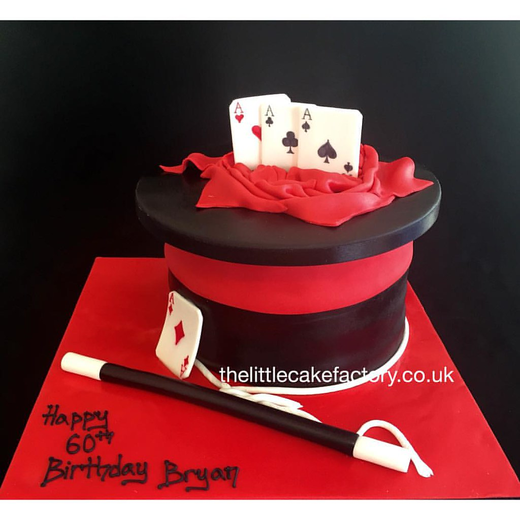 Stupendous Magician Birthday Cake Magic Magician Tricks Magicwand Flickr Funny Birthday Cards Online Kookostrdamsfinfo