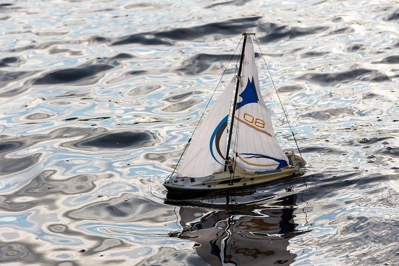 Rodney's Sail Boat.
