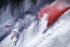 Marcel Hirscher performs during the project 'Marcel Hirscher Colours' at Reiteralm near Schladming, Austria on March 24th, 2015 // Markus Berger / Red Bull Content Pool // P-20150407-00034 // Usage for editorial use only // Please go to www.redbullcontentpool.com for further information. //