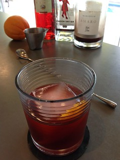 Negroni with Beefeater gin, Campari, Margerum amaro #gin #cocktail #cocktails #craftcocktails #campari #negroni | by *FrogPrincesse*