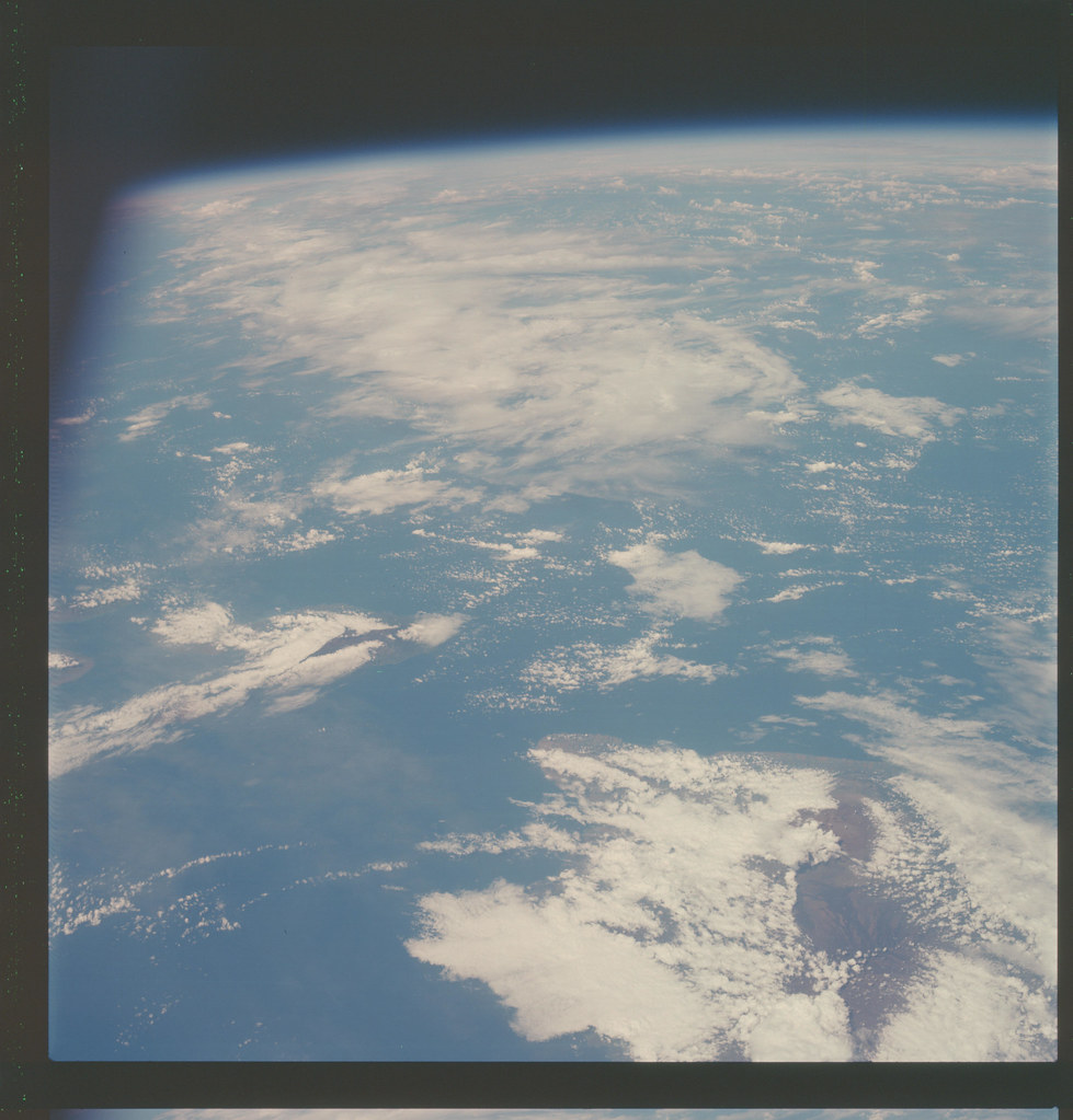 AS07-7-1745 | Apollo 7 Hasselblad image from film magazine ...