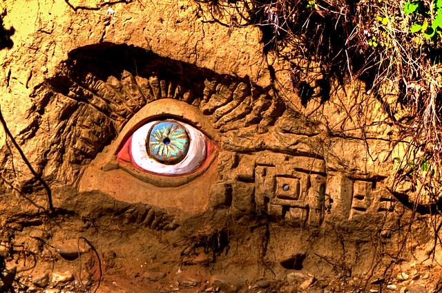 L'oeil du jardin extraordinaire, Ariège, Occitanie