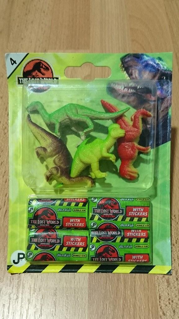 Small Mini Dinosaurs Plastic PVC Toys: Jurassic Park: The