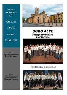 5 Gennaio 2017 S. Francesco | by Coro Alpe di Saronno
