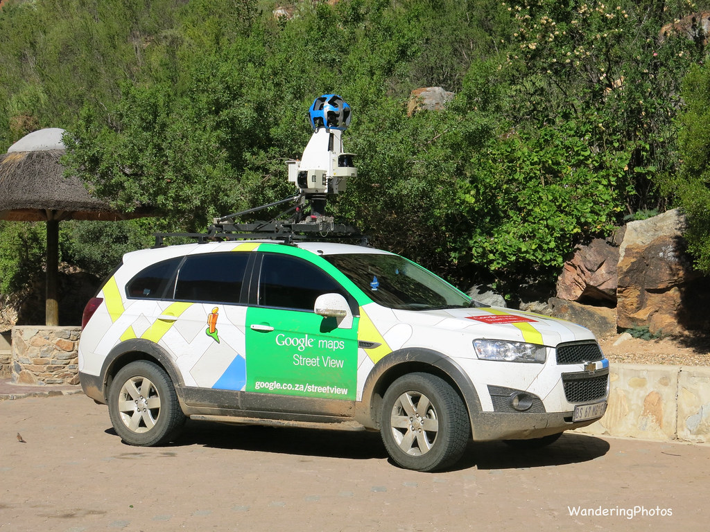 Google Maps Filming Car South Africa Wandering Pjb Flickr