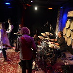 Mon, 17/08/2015 - 9:41am - Larry Campbell with Teresa Williams on vocals and Bill Payne on keys, for an audience of WFUV Marquee Members at City Winery, 8/17/15. Photo by Gian Vassaliko