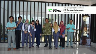 Amazing Slide Presentation Roadshow PT. Tensan Indonesia 2 | by dhonyfirmansyah