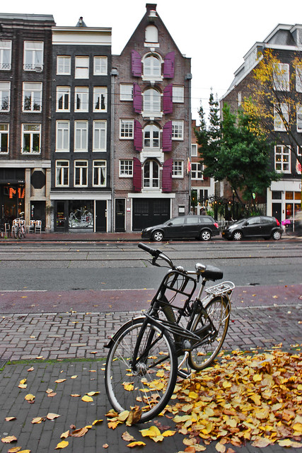 Autumn in Amsterdam.