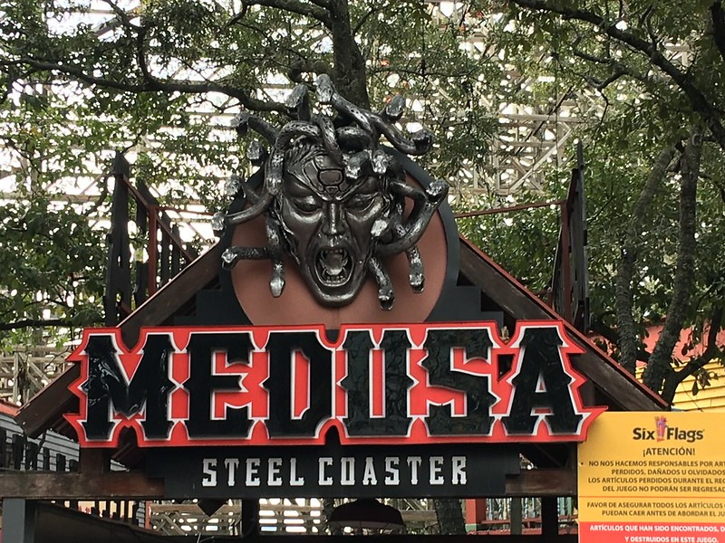 Medusa Steel Coaster at Six Flags Mexico