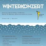 Winterkonzert 04.12.2016