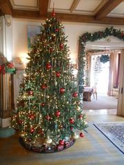 Christmas Tree, Front Parlor, Kip's Castle, Essex County, NJ
