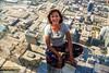 selfie on the ledge by dorameulman