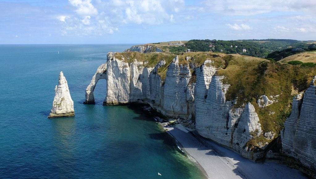 Etretat Falaise D Aval Seine Maritime Normandie Flickr