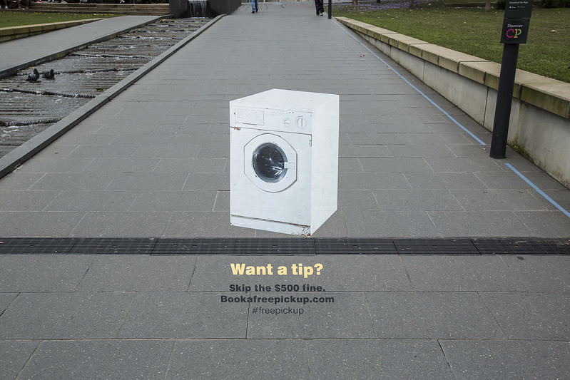 Old washing machine, Central Park